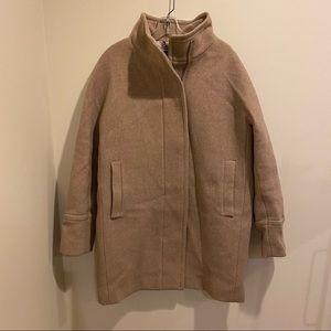 J. Crew Stadium Cloth Cocoon Coat by Nello Gori